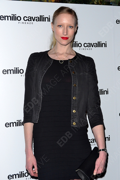 21.MARCH.2012. LONDON<br /> <br /> VARIOUS CELEBRITIES ATTENDING THE EMILIO CAVALLINI LAUNCH PARTY HELD AT SKETCH, LONDON<br /> <br /> BYLINE: EDBIMAGEARCHIVE.COM<br /> <br /> *THIS IMAGE IS STRICTLY FOR UK NEWSPAPERS AND MAGAZINES ONLY*<br /> *FOR WORLD WIDE SALES AND WEB USE PLEASE CONTACT EDBIMAGEARCHIVE - 0208 954 5968*