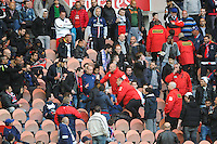 Supporters PSG / Stadiers - 28.04.2015 - Paris Saint Germain / Metz - Match en retard - 32eme journee Ligue 1<br />Photo : Nolwenn Le Gouic / Icon Sport