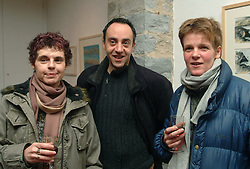 Stefania Corbelli, Fabrizio Simeoni and Brigitte Jurack were pictured at the opening of the Marianne Heemskerk exhibition &quot;Sea, Sky and Weather&quot; at the Custom House Studios Gallery Westport.<br /><br />Picture Conor McKeown.