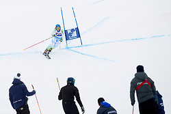Spela Micunovic of Slovenia during FIS World Cup Telemark Krvavec 2018, on February 8, 2018 in RTC Krvavec, Crklje na Gorenjskem, Slovenia. Photo by Urban Urbanc / Sportida