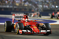 VETTEL sebastian (ger) ferrari sf15t action    during the 2015 Formula One World Championship, Singapore Grand Prix from September 16th to 20th 2015 in Singapour. Photo Frederic Le Floc'h / DPPI