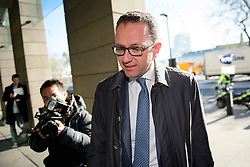 ©  London News Pictures. 28/04/2016. London, UK. MARC MEYOHAS,Partner, Greybull Capital LLP arrives at Portcullis House in London to give evidence to the Commons Business Committee on the future of British steel. TATA Steel. The future of Tata Steel has been in doubt since it announced it would sell its loss-making UK business. Photo credit: Ben Cawthra/LNP