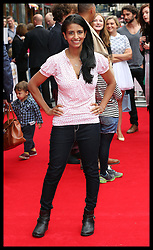 Image licensed to i-Images Picture Agency. 13/07/2014. London, United Kingdom. Konnie Huq at the World premiere of Pudsey The Dog : The Movie in London.  Picture by Stephen Lock / i-Images