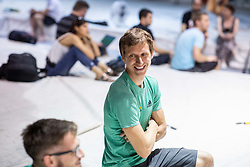 Anze Stremfelj during training competition of Slovenian National Climbing team before new season, on June 30, 2020 in Koper / Capodistria, Slovenia. Photo by Vid Ponikvar / Sportida