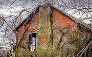 A scary old abandoned house on Union Cross Rd. near Walburg, North Carolina