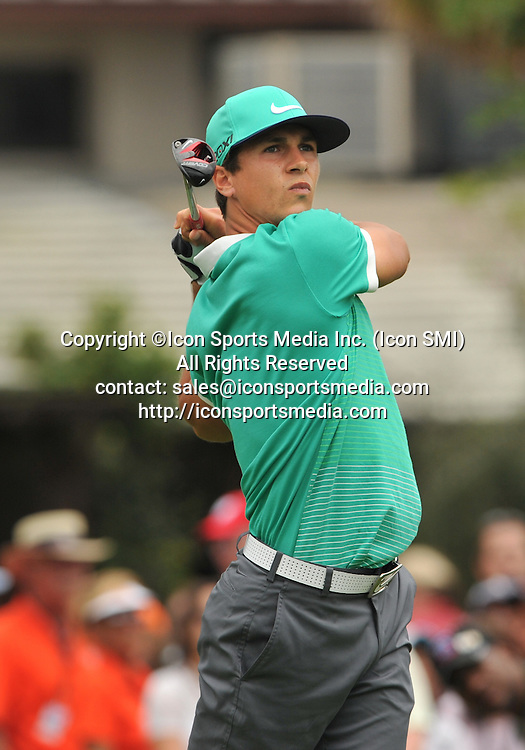 24 March 2013: Thorbjorn Olesen during the final round of the Arnold Palmer Invitational at Arnold Palmer's Bay Hill Club & Lodge in Orlando, Florida.