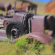 Abandoned Truck - Bodie, CA - Lensbaby