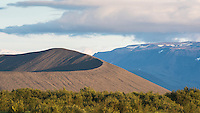 Hverfjall (also known as Hverfell) is a tephra cone or tuff ring volcano in northern Iceland, to the east of Mývatn. North Iceland.