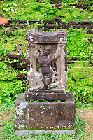A Hindu carving in the temple grounds of My Son Sanctuary, central Vietnam