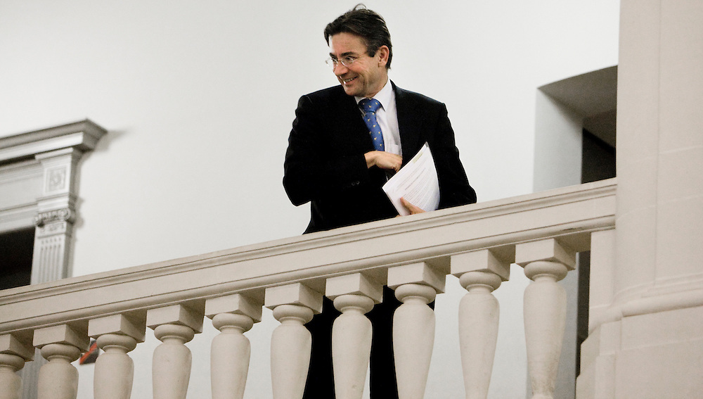 Nederland. Den Haag, 30 november 2007. <br /> Maxime Verhagen, minister van Buitenlandse Zaken.<br /> Foto Martijn Beekman <br /> NIET VOOR TROUW, AD, TELEGRAAF, NRC EN HET PAROOL