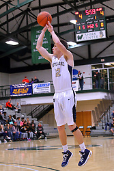 30 December 2016:Quincy Notre Dame v St. Joseph Ogden, State Farm Holiday Classic Coed Basketball Tournament at Shirk Center, Bloomington Illinois