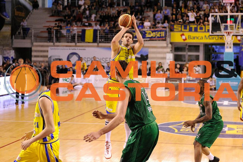DESCRIZIONE : Ancona Lega A 2011-12 Fabi Shoes Montegranaro Montepaschi Siena<br /> GIOCATORE : Dejan Ivanov<br /> CATEGORIA : tiro penetrazione<br /> SQUADRA : Fabi Shoes Montegranaro<br /> EVENTO : Campionato Lega A 2011-2012<br /> GARA : Fabi Shoes Montegranaro Montepaschi Siena<br /> DATA : 06/05/2012<br /> SPORT : Pallacanestro<br /> AUTORE : Agenzia Ciamillo-Castoria/C.De Massis<br /> Galleria : Lega Basket A 2011-2012<br /> Fotonotizia : Ancona Lega A 2011-12 Fabi Shoes Montegranaro Montepaschi Siena<br /> Predefinita :
