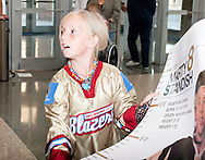 October 24, 2008: The Mississippi Riverkings of the CHL play against the Oklahoma City (OKC) Blazers at the Ford Center in Oklahoma City, OK.