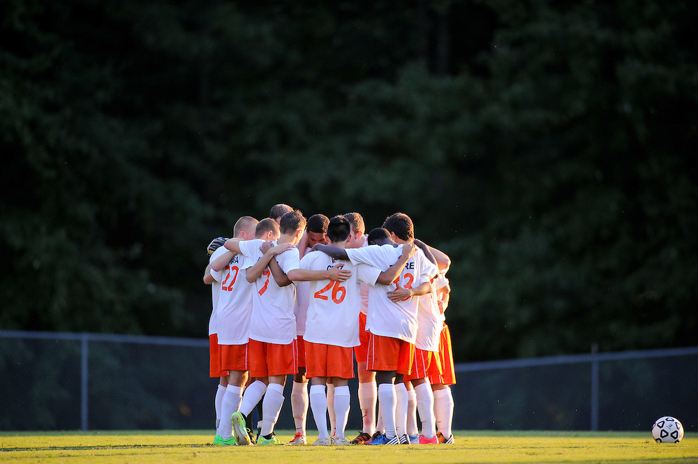 Sept. 11, 2012; Morrow, GA, USA; Clayton State men's soccer team against Newberry at CSU. Photo by Kevin Liles/kdlphoto.com