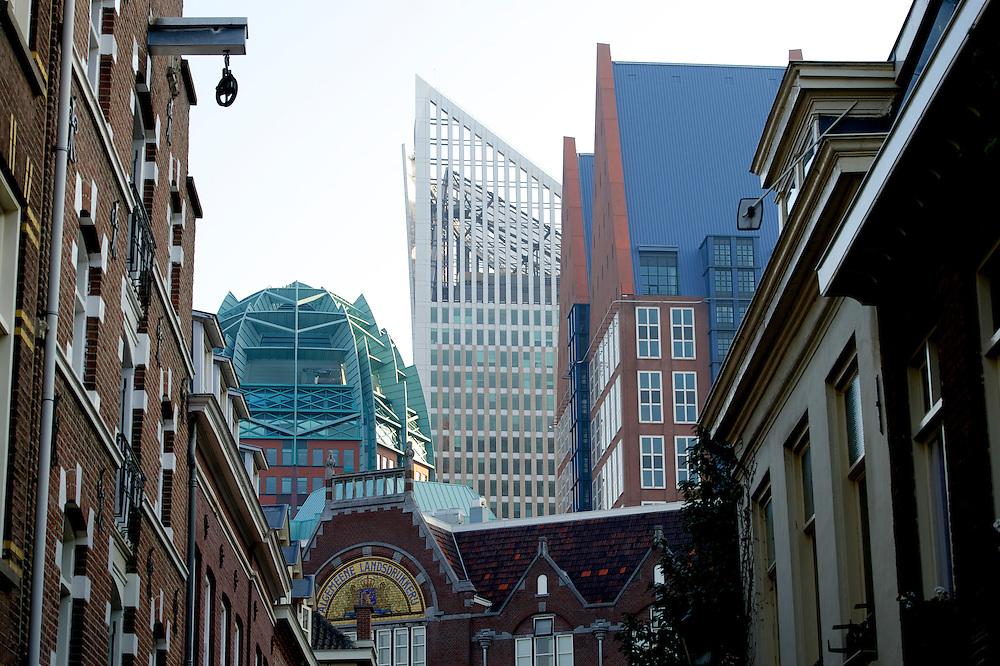 Foto: Gerrit de Heus. Den Haag. 07-10-2013. Skyline, Ministeries, stadsgezicht