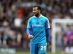 Adam Le Fondre of Wolverhampton Wanderers - Mandatory byline: Robbie Stephenson/JMP - 07966 386802 - 18/10/2015 - FOOTBALL - iPro Stadium - Derby, England - Derby County v Wolverhampton Wanderers - Sky Bet Championship