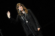 Patti Smith performs at The Music of R.E.M. at Carnegie Hall, a tribute concert to benefit musical education programs for underprivileged youth.