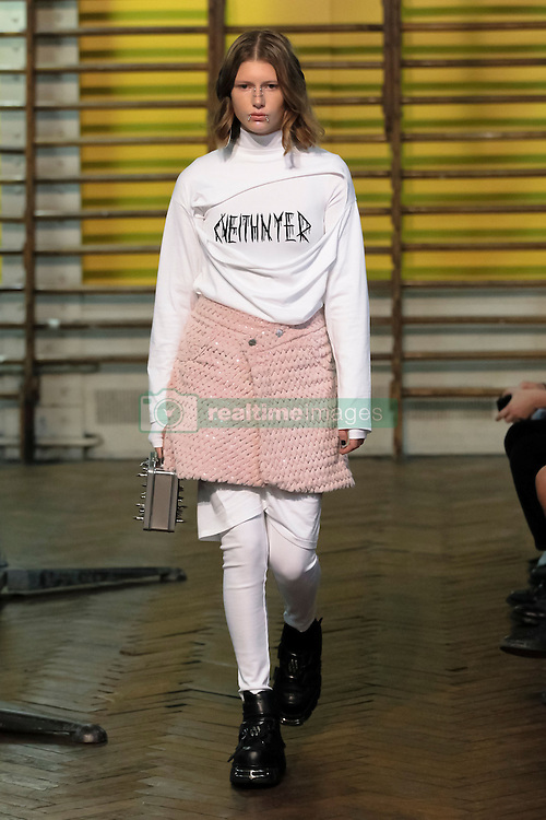 September 27, 2016 - Paris, FRANCE - Neith Nyer.MODEL ON CATWALK, WOMAN WOMEN, PARIS FASHION WEEK 2017 READY TO WEAR FOR SPRING SUMMER, DEFILE, FASHION SHOW RUNWAY COLLECTION, PRET A PORTER, MODELWEAR, MODESCHAU LAUFSTEG FRUEHJAHR SOMMER .PARSS17 (Credit Image: © PPS via ZUMA Wire)