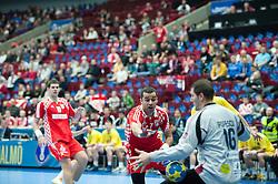 14.01.2011, Malmö Arena, SWE, IHF Handball Weltmeisterschaft 2011, Herren, Croatien vs Rumänien im Bild, // Croatia 7 Vedran Zrnic makes a goal gör mål .Nyckelord: jubel glädje celebration happy // during the IHF 2011 World Men's Handball Championship match Croatia vs Romania at Malmo Arena. EXPA Pictures © 2011, PhotoCredit: EXPA/ Newspix/ Michael Buch +++++ ATTENTION - FOR AUSTRIA ONLY  +++++