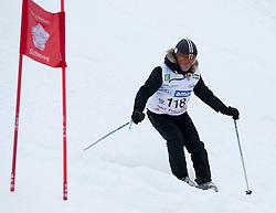 23.01.2012, Planai, Schladming, AUT, FIS Alpin Ski Weltcup, Slalom Herren, Sporthilfe Ski for Gold Promirennen, im Bild Musicalstar Uwe Kröger // Musicalstar Uwe Kroeger at the Sporthilfe Ski for Gold VIP Race during the FIS World Cup Alpine Skiing at the 'Planai', Schladming, Austria on 2012/01/23, EXPA Pictures © 2012, PhotoCredit: EXPA/ Erwin Scheriau