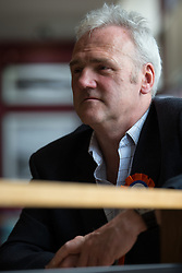 © Licensed to London News Pictures . 02/06/2014 . Newark , Nottinghamshire , UK . Independent candidate PAUL BAGGALEY today (Monday 2nd June 2014) , ahead of the by-election due to take place on Thursday (5th June 2014) . Photo credit : Joel Goodman/LNP