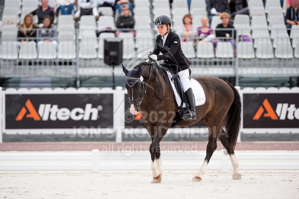 Anastasja Vistalova, (CZE), Jambo - Individual Test Grade Ib Para Dressage - Alltech FEI World Equestrian Games&trade; 2014 - Normandy, France.<br /> &copy; Hippo Foto Team - Jon Stroud <br /> 25/06/14