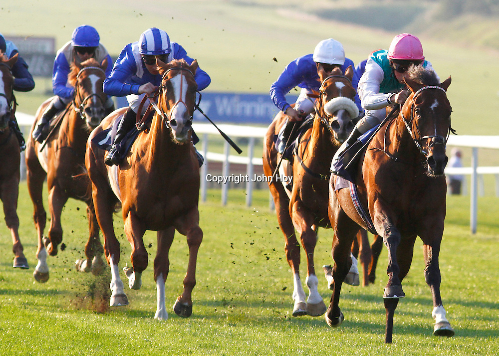 Ashdan and William Buick winning the 6.45 race
