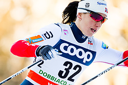 December 16, 2017 - Toblach, ITALY - 171216 Marit BjÂ¿rgen of Norway competes in women's 10km interval start free technique during FIS Cross-Country World Cup on December 16, 2017 in Toblach..Photo: Jon Olav Nesvold / BILDBYRN / kod JE / 160103 (Credit Image: © Jon Olav Nesvold/Bildbyran via ZUMA Wire)
