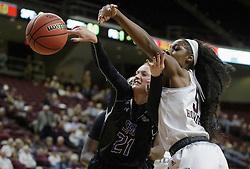 SFA vs. Texas A&M in a NCAA women's basketball game Nov. 20, 2016, in College Station, Texas.