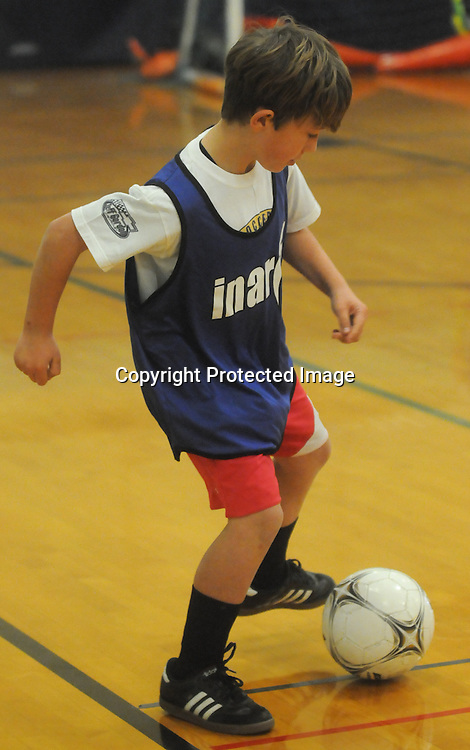 Children participated in the Wilmington Hammerheads' Youth Outreach Indoor Friendly Tournament Sunday January 11, 2015 at the MLK Center in Wilmington, N.C. (Jason A. Frizzelle)