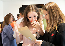 © Licensed to London News Pictures. 22/08/2019. Solihull, West Midlands UK. Solihull School GCSE results. Photo credit: Dave Warren/LNP