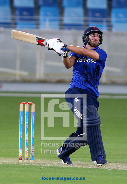 Dawid Malan of England Lions during the International Twenty/20 match at Dubai International Cricket Stadium, Dubai<br /> Picture by Chris Whiteoak-Medcalf/Focus Images Ltd +971 8117530<br /> 10/12/2015