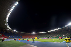VIENNA, AUSTRIA - Thursday, October 6, 2016:A A general view of the Ernst-Happel-Stadion before Wales take on Austria during a 2018 FIFA World Cup Qualifying Group D match. (Pic by Peter Powell/Propaganda)