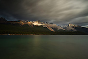 Maligne Lake, Jasper Alberta