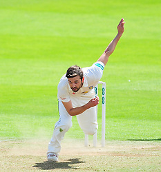Mark Wood of Durham in action.  - Mandatory by-line: Alex Davidson/JMP - 04/08/2016 - CRICKET - The Cooper Associates County Ground - Taunton, United Kingdom - Somerset v Durham - County Championship