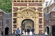 Nederland, the netherlands, Den haag, 17-5-2018Toegang tot het binnenhof  .Foto: Flip Franssen