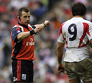 Twickenham, GREAT BRITAIN, Referee, Nigal OWENS, during the  England vs Italy, Six Nations Rugby match,  played at the  RFU Twickenham Stadium on Sat 10.02.2007  [Photo, Peter Spurrier/Intersport-images].....