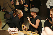JEMIMA FRENCH, SADIE FROST, Luella Bartley Dinner, Nobu, Berkeley St. 16 May 2006. ONE TIME USE ONLY - DO NOT ARCHIVE  © Copyright Photograph by Dafydd Jones 66 Stockwell Park Rd. London SW9 0DA Tel 020 7733 0108 www.dafjones.com