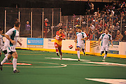 The Baltimore Blast handily defeat the St. Louis Ambush 14-2 Friday night at First Mariner Arena in Baltimore.The Baltimore Blast handily defeat the St. Louis Ambush 14-2 Friday night at First Mariner Arena in Baltimore.