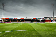 Booth Crescent during the Sky Bet League 2 match between York City and AFC Wimbledon at Bootham Crescent, York, England on 24 October 2015. Photo by Simon Davies.