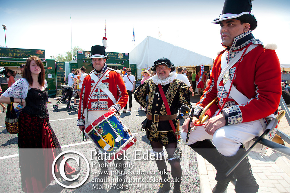 UK, England, Isle of Wight, Yarmouth, Marching band, Buskers, Old Gaffers Festival, Classic Cars, Exhibits, Crowds, People Photographs of the Isle of Wight by photographer Patrick Eden photography photograph canvas canvases