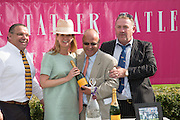 KATE REARDON; LIAM THOMPSON; JAMES GAFNEY, Glorious Goodwood. Thursday.  Sussex. 3 August 2013