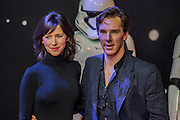 Benedict Cumberbatch and his wife - The European Premiere of STAR WARS: THE FORCE AWAKENS - Odeon, Empire and Vue Cinemas, Leicester Square, London.