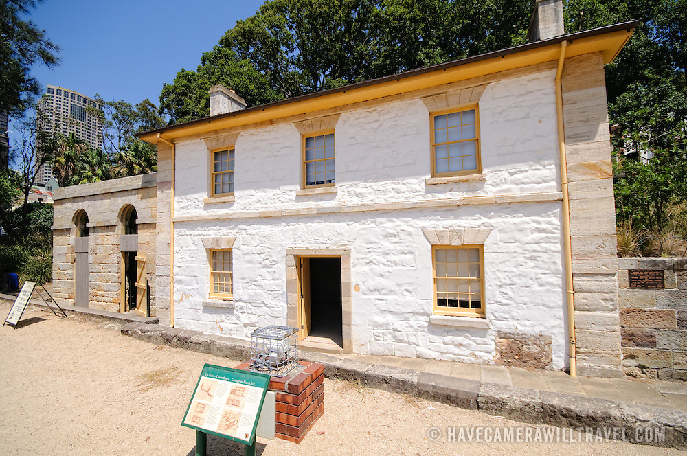 Cadman's Cottage in Sydney's Rocks district on the waterfront is the oldest residential building in Sydney. It dates back to 1816 in the colonial era.
