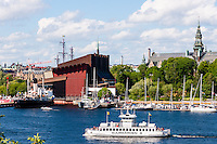 Sweden, Stockholm. The Vasa Museum.