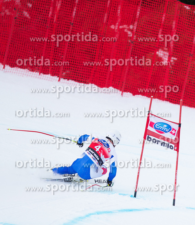 27.12.2012, Stelvio, Bormio, ITA, FIS Weltcup, Ski Alpin, Abfahrt, 1. Training, Herren, im Bild Guillermo Fayed (FRA) // Guillermo Fayed of France in action during 1st practice of the mens Downhill of the FIS Ski Alpine Worldcup at the Stelvio course, Bormio, Italy on 2012/12/27. EXPA Pictures © 2012, PhotoCredit: EXPA/ Johann Groder