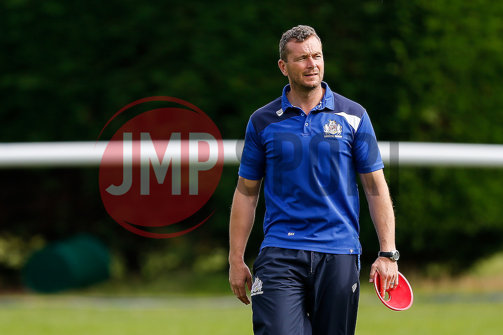 Bristol Rugby First Team Coach Sean Holley looks on - Mandatory byline: Rogan Thomson/JMP - 07966 386802 - 13/09/2015 - RUGBY UNION - Old Deer Park - Richmond, London, England - London Welsh v Bristol Rugby - Greene King IPA Championship.