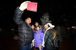 Pat Lam and his family at the Bristol Rugby Christmas party at Avon Valley country park - Photo mandatory by-line: Dougie Allward/JMP - 26/11/2017 - Avon Valley Country Park - Bristol, England -  v  - Bristol City and Bristol Rugby Christmas party