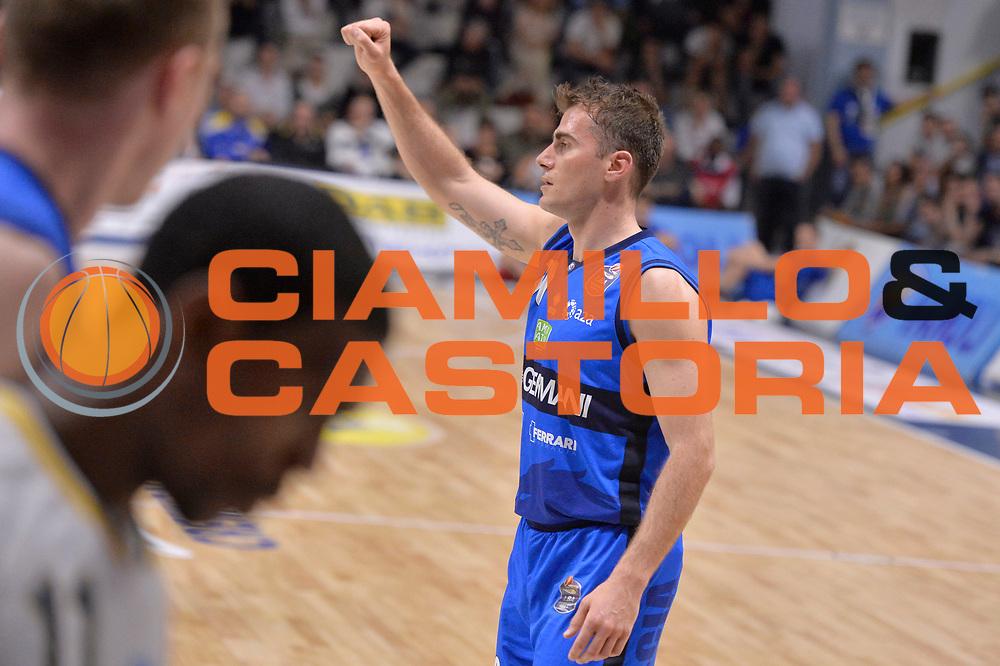 Franko Bushati<br /> Vanoli Cremona - Germani Basket Brescia Leonessa<br /> Lega Basket Serie A 2016/2017<br /> Cremona, 09/04/2017<br /> Foto M.Ceretti / Ciamillo - Castoria