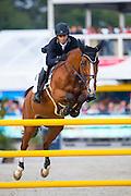 Joao Edua Ferreira de Carvalho - Volt du Thot<br /> FEI World Breeding Jumping Championships for Young Horses 2016<br /> © DigiShots
